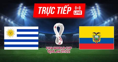 Kết quả Uruguay vs Ecuador | World Cup 2022 | 5h30 ngày 10/9/2021