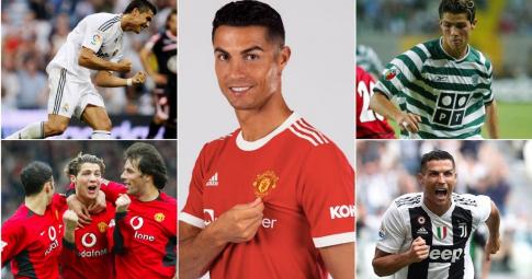 5 trận ra mắt của Ronaldo trước khi tái hợp MU: 4 thành công, 1 thất bại
