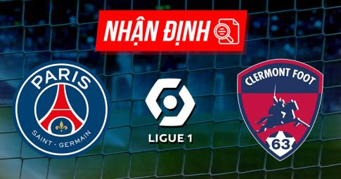 Nhận định, dự đoán PSG vs Clermont Foot | Ligue 1 | 22h00 ngày 11/9/2021