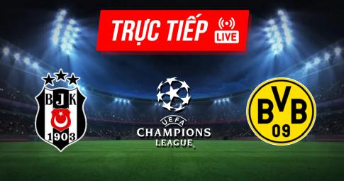 Kết quả Besiktas vs Borussia Dortmund | Champions League | 23h45 ngày 15/09/2021