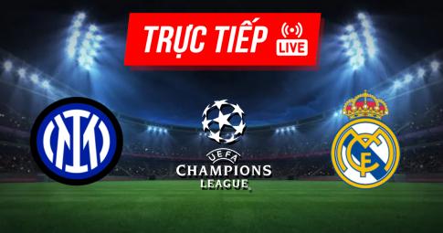 Kết quả Inter vs Real Madrid | Champions League | 02h00 ngày 16/09/2021