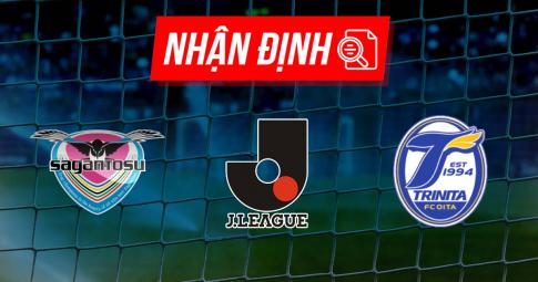Nhận định Sagan Tosu vs Oita Trinita | J League | 17h00 ngày 17/09/2021