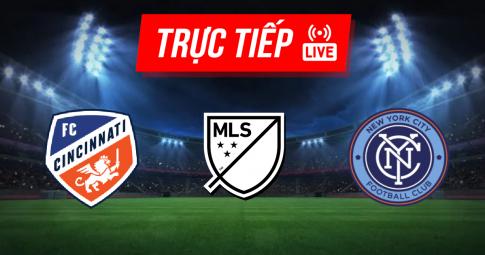 Kết quả FC Cincinnati vs New York City FC | MLS | 06h30 ngày 19/09/2021