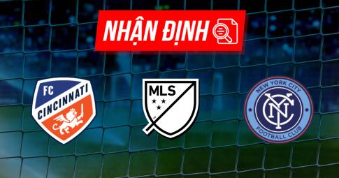 Nhận định FC Cincinnati vs New York City FC | MLS | 06h30 ngày 19/09/2021