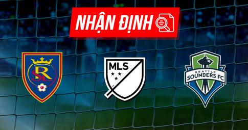 Nhận định Real Salt Lake vs Seattle Sounders | MLS | 08h30 ngày 19/09/2021