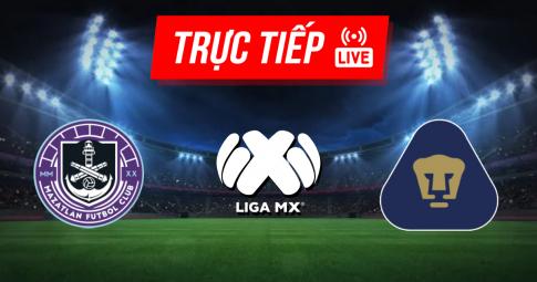 Kết quả Mazatlan vs Pumas UNAM | Liga MX | 09h00 ngày 19/09/2021