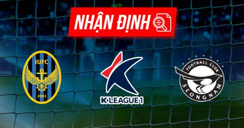 Nhận định Incheon United vs Seongnam | K League 1 | 12h00 ngày 19/09/2021