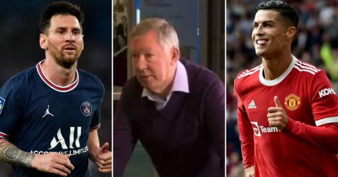 Sir Alex Ferguson tiên tri chuẩn xác về Ronaldo và Messi