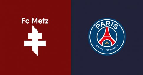 Xem trực tiếp Metz vs PSG ở đâu, kênh nào