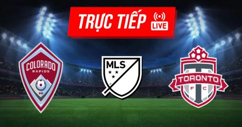Kết quả Colorado Rapids vs Toronto | MLS | 07h00 ngày 26/09/2021