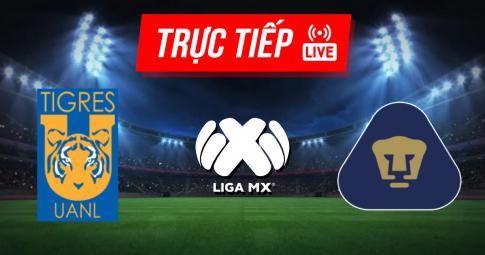 Kết quả Tigres UANL vs Pumas UNAM | Liga MX | 07h00 ngày 26/09/2021