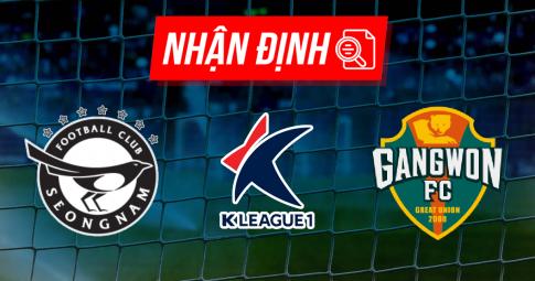 Nhận định Seongnam vs Gangwon | K League 1 | 14h30 ngày 26/09/2021