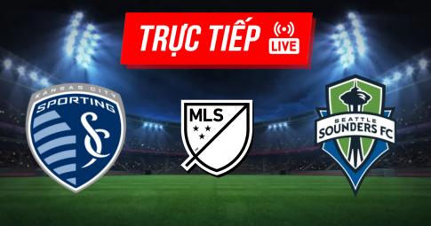 Trực tiếp Sporting Kansas City vs Seattle Sounders | MLS | 06h00 ngày 27/09/2021