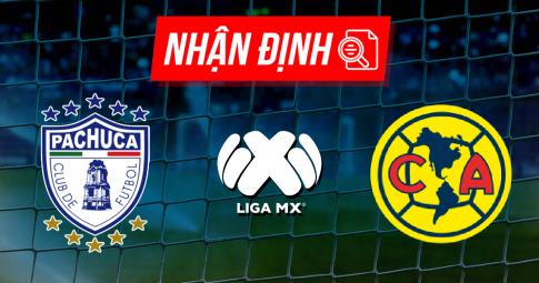 Nhận định Pachuca vs Club America | Liga MX | 09h05 ngày 29/09/2021