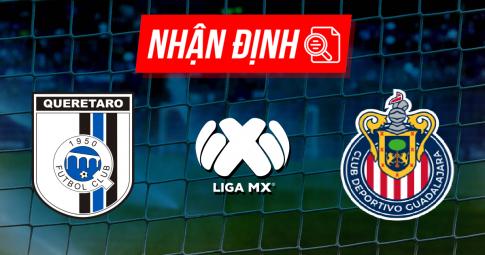Nhận định Queretaro vs Guadalajara | Liga MX | 09h15 ngày 30/09/2021