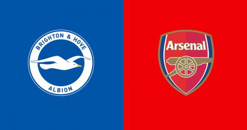 Xem trực tiếp Brighton vs Arsenal ở đâu, kênh nào