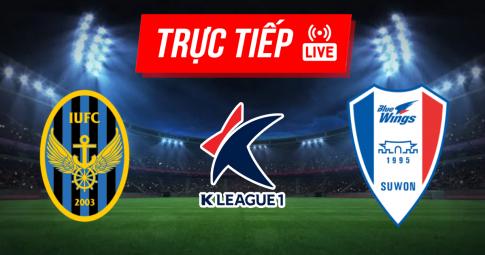 Kết quả Incheon United vs Suwon Bluewings | K League 1 | 17h00 ngày 02/10/2021