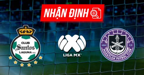 Nhận định Santos Laguna vs Mazatlan | Liga MX | 07h00 ngày 03/10/2021