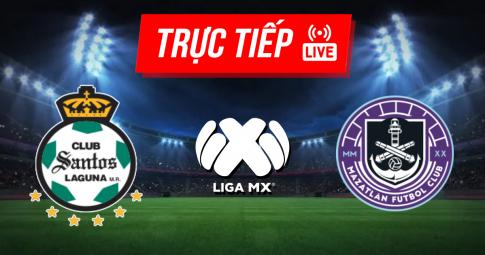 Kết quả Santos Laguna vs Mazatlan   Liga MX   07h00 ngày 03/10/2021