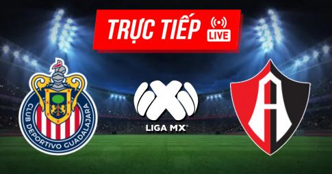 Kết quả Guadalajara vs Atlas | Liga MX | 09h00 ngày 03/10/2021