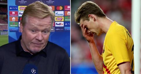 Koeman từng <b>bất ngờ thay đổi sơ đồ</b> khiến cầu thủ Barca không kịp trở tay