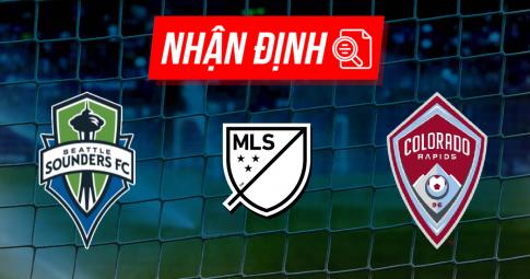 Nhận định Seattle Sounders vs Colorado Rapids   MLS   09h00 ngày 04/10/2021