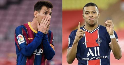 Mbappe, Messi và 3 ngôi sao <b>công khai đòi rời CLB nhưng bất thành</b>