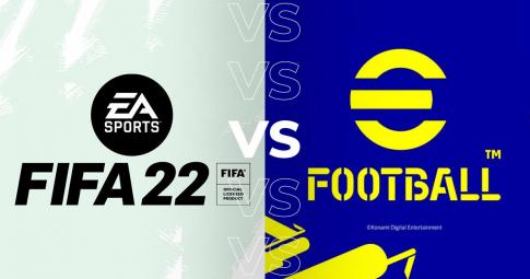 <b>FIFA 22 nhận mưa lời khen</b> trên Steam, đè bẹp eFootball 2022