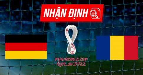 Nhận định Đức vs Romania | World Cup 2022 | 01h45 ngày 09/10/2021