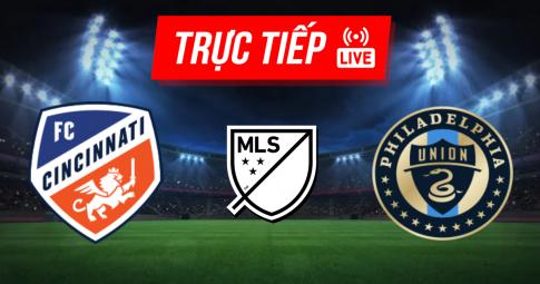 Kết quả Cincinnati vs Philadelphia Union | MLS | 07h00 ngày 10/10/2021