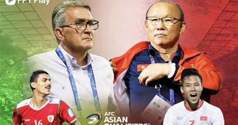 3 màn so tài định đoạt kết quả trận ĐT Việt Nam gặp Oman