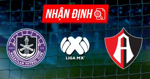 Nhận định Mazatlan vs Atlas | Liga MX | 09h00 ngày 16/10/2021