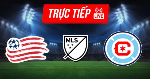 Trực tiếp New England Revolution vs Chicago Fire | MLS | 06h00 ngày 17/10/2021