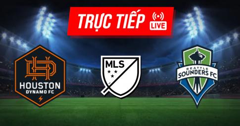Trực tiếp Houston Dynamo vs Seattle Sounders | MLS | 07h30 ngày 17/10/2021