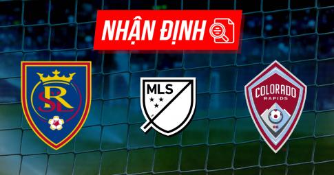 Nhận định Real Salt Lake vs Colorado Rapids | MLS | 08h30 ngày 17/10/2021
