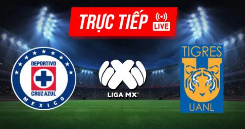 Kết quả Cruz Azul vs Tigres UANL | Liga MX | 09h00 ngày 17/10/2021