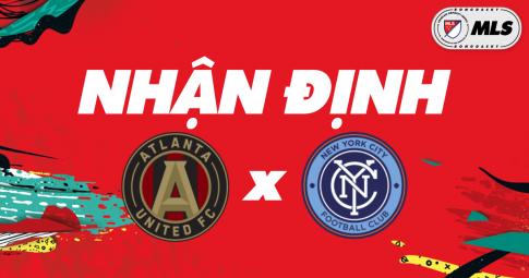 Nhận định Atlanta United vs New York City | MLS | 06h30 ngày 21/10/2021