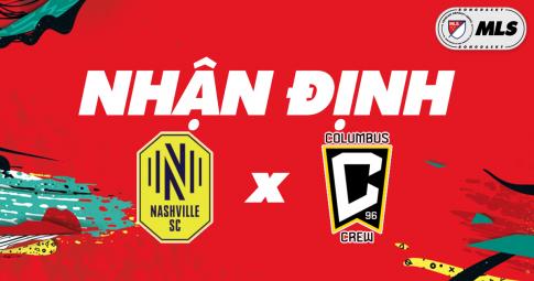 Nhận định Nashville SC vs Columbus Crew | MLS | 07h30 ngày 21/10/2021
