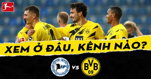 Xem trực tiếp Arminia Bielefeld vs Dortmund ở đâu, kênh nào