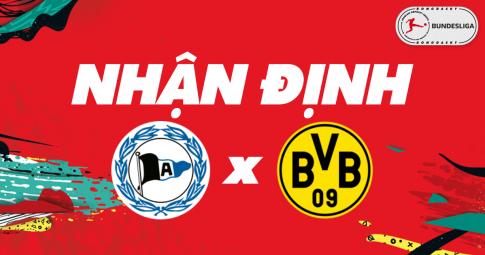 Nhận định Arminia Bielefeld vs Dortmund | Bundesliga | 20h30 ngày 23/10/2021