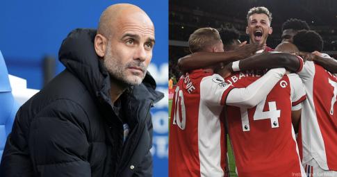 Guardiola <b>tiên tri số phận của Arsenal</b> tại Ngoại hạng Anh mùa này