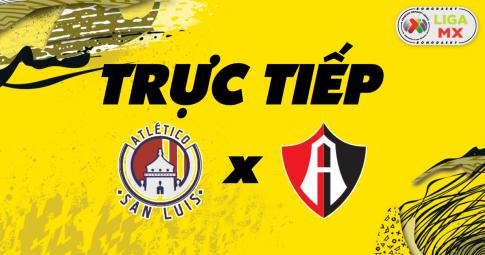 Kết quả Atlético San Luis vs Atlas | Liga MX | 07h00 ngày 25/10/2021