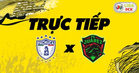 Kết quả Pachuca vs Juárez FC | Liga MX | 09h00 ngày 25/10/2021