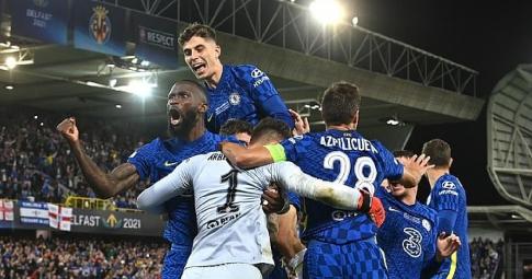 """Kepa hóa """"người hùng"""", Chelsea nhọc nhằn vào  kết League Cup"""