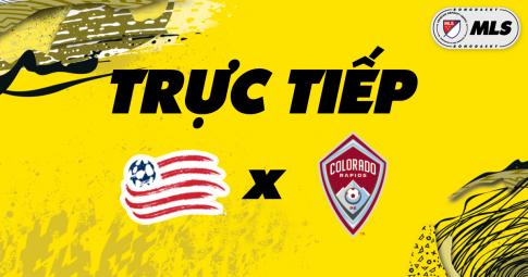 Kết quả New England Revolution vs Colorado Rapids | MLS | 06h00 ngày 28/10/2021