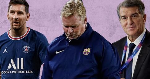 Messi chỉ thẳng cái tên thay thế Koeman dẫn dắt Barca