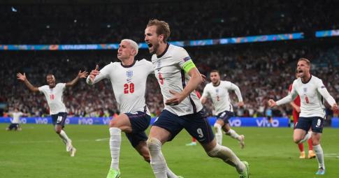 Highlights Anh - Đan Mạch: Lịch sử gọi tên ĐT Anh | EURO 2021
