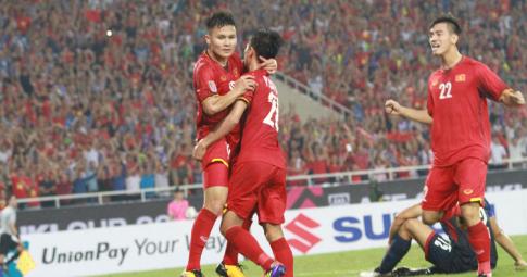 4 Yếu tố giúp ĐT Việt Nam giành chiến thắng tại sân nhà Mỹ Đình