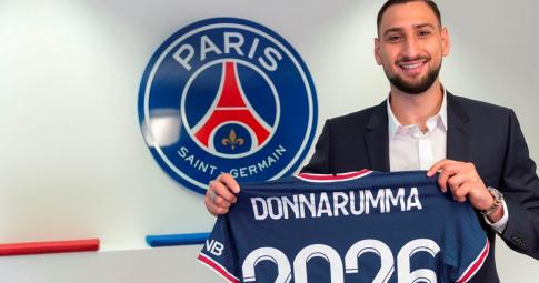 Lý giải bí ẩn số áo 50 của thủ thành Donnarumma tại PSG
