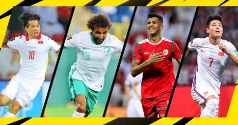 5 đội bóng châu Á gần như gần như bị loại World Cup 2022